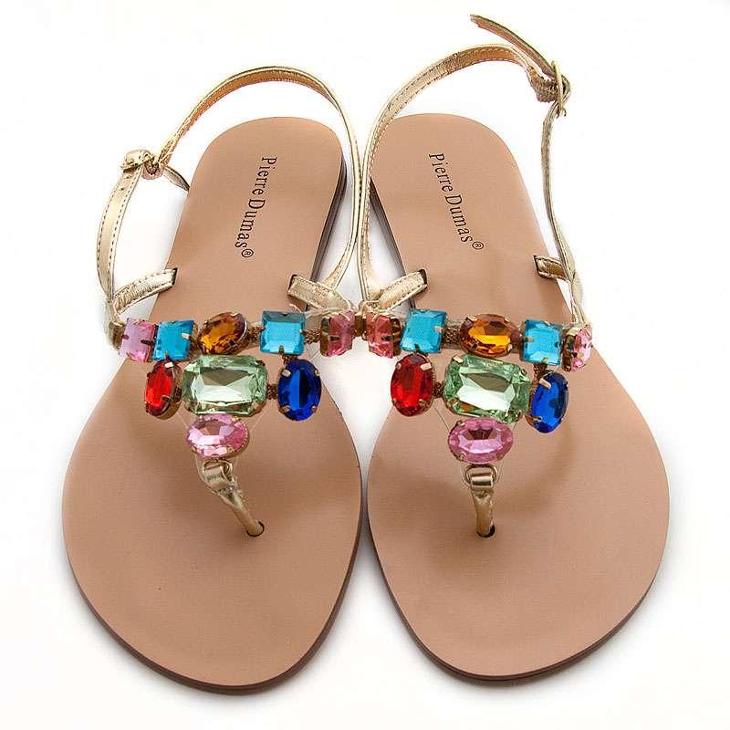 b8ba73d471b8aa Jeweled Sandals