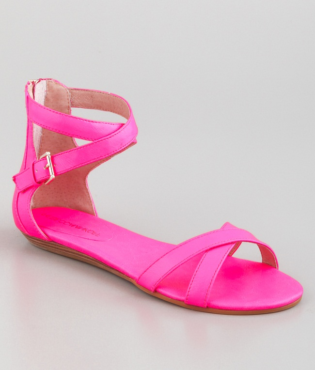 Hot Pink Sandals Craftysandals Com