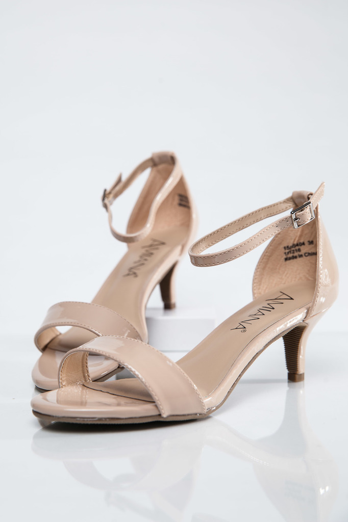 Nude Sandal Heels | Crafty Sandals