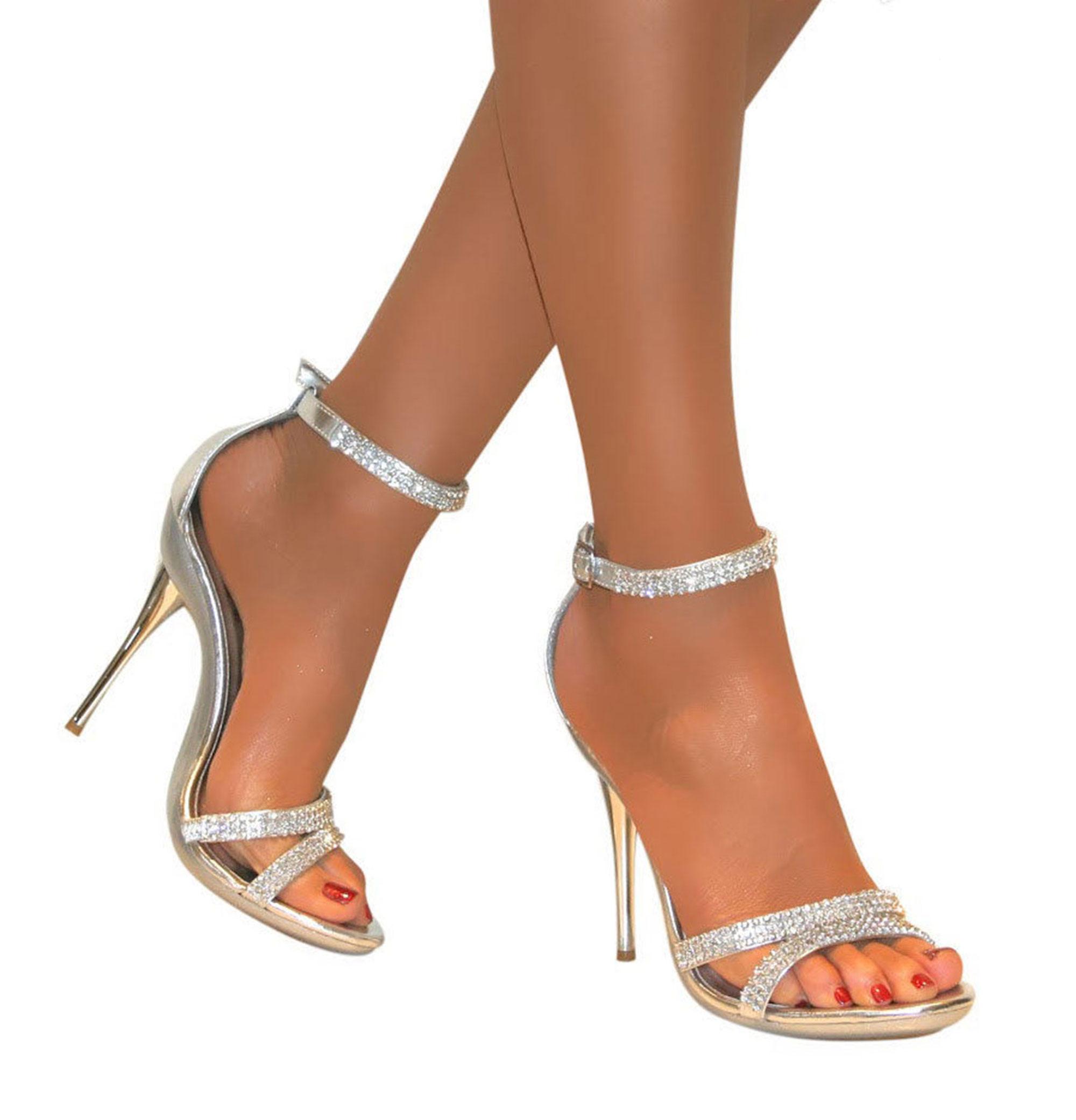 af22ec9c1bc Silver Sandals for Wedding