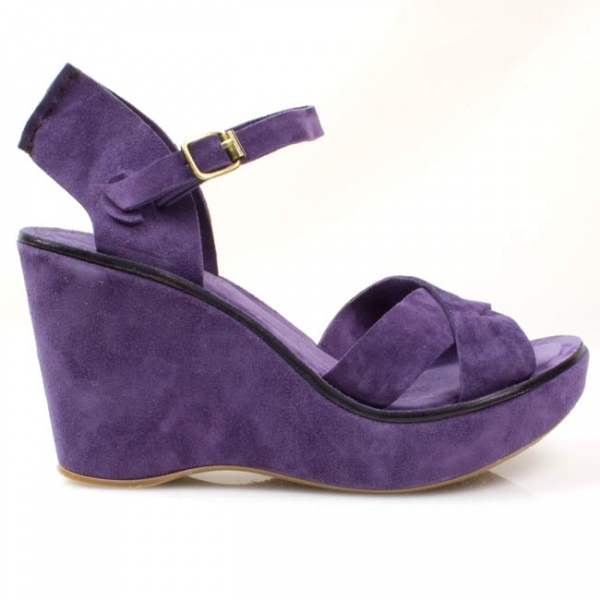 e3f89e2e42e6d9 Purple Wedge Sandal
