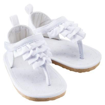 White Baby Sandals | CraftySandals.com