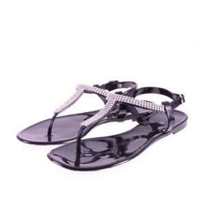 Flat Jelly Sandals