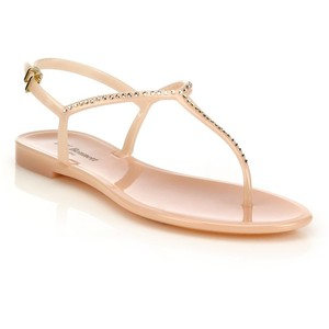 Flat Jelly Sandals Images