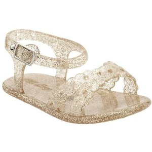 Gold Jelly Sandals Baby