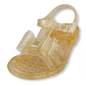 Gold Jelly Sandals Toddler