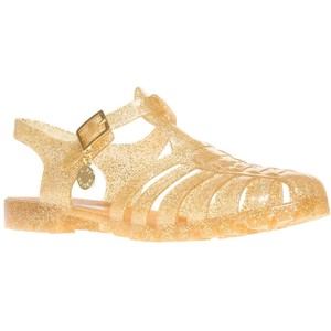Gold Sandals Jelly