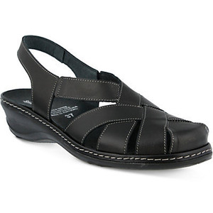 Images of Black Closed Toe Sandals