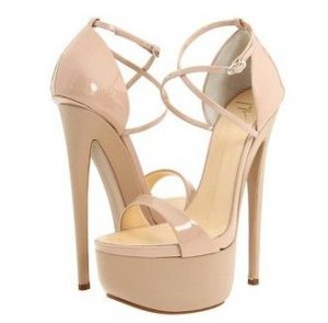 Images of Nude Platform Sandals