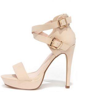 Nude Platform Sandals Images