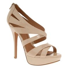 Nude Platform Sandals Photos