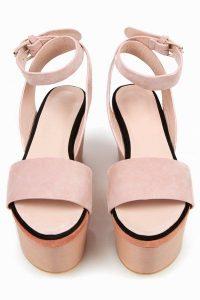 Nude Platform Sandals Pictures