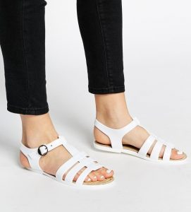 Pictures of Flat Jelly Sandals