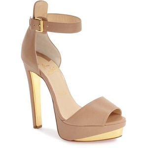 Pictures of Nude Platform Sandals