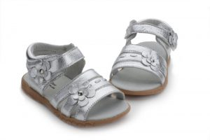 Pictures of Silver Toddler Sandals