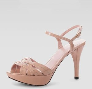 Platform Nude Sandal