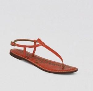 Red Thong Sandal