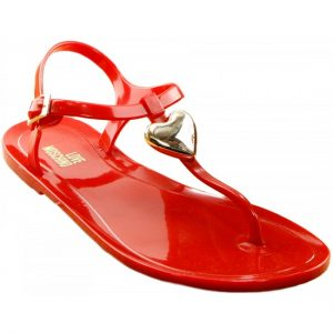 Red Thong Sandals