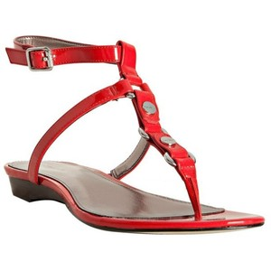 Red Thong Sandals Images