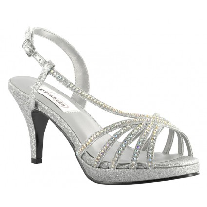 silver shoes for wedding rhinestone wedge sandals crafty sandals 7443
