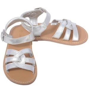 Silver Sandals Toddler