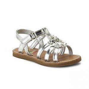 Toddler Silver Sandals