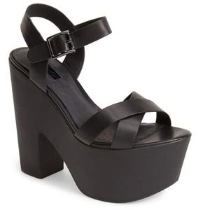 Ankle Strap Platform Sandals Pictures