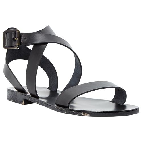 Flat Leather Sandals | CraftySandals.com