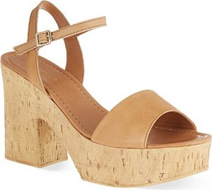 Cork Platform Sandals Photos