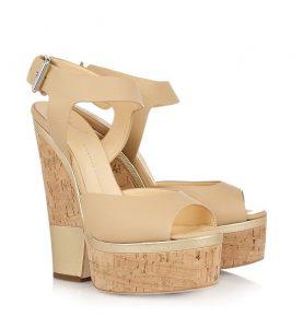 Cork Sandals Platform