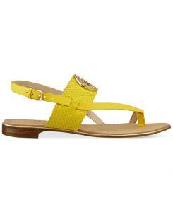 Flat Sandals Yellow