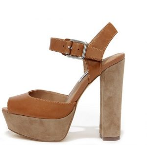 Heeled Platform Sandals