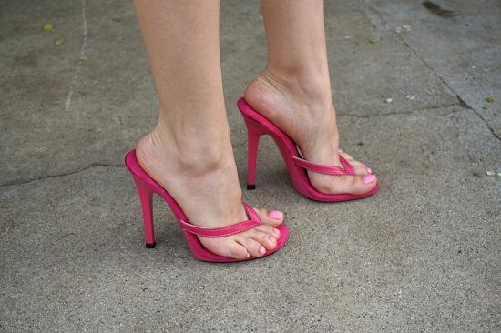 High Heel Thong Sandals | CraftySandals.com