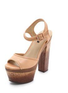 Images of Cork Platform Sandals