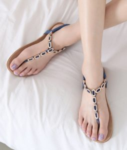 Images of Flat Thong Sandals