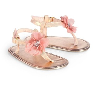 Gold Baby Sandals | CraftySandals.com