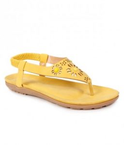 Images of Yellow Flat Sandals