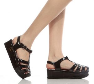Jelly Platform Sandals Pictures