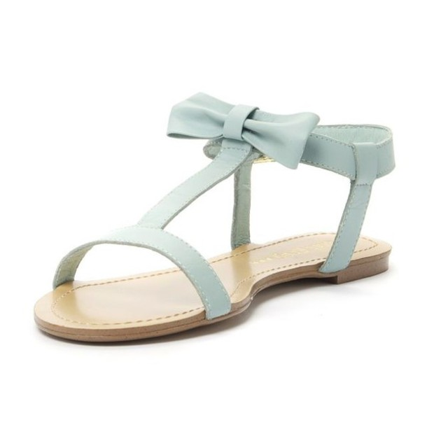 Light Blue Sandals | CraftySandals.com