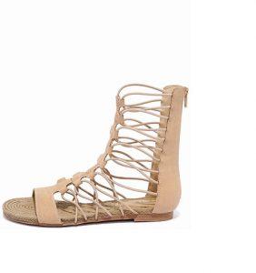 Nude Gladiator Sandals Photos