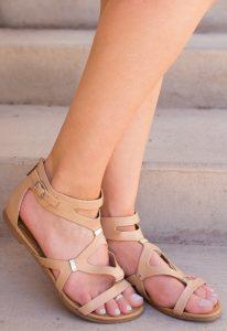 Nude Gladiator Sandals Pictures
