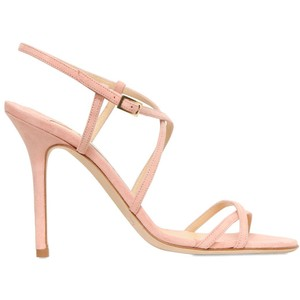 Pale Pink Strappy Sandals