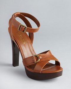 Pictures of Brown Platform Sandals