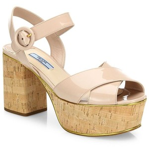 Pictures of Cork Platform Sandals