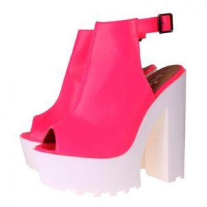 Pictures of Pink Platform Sandals