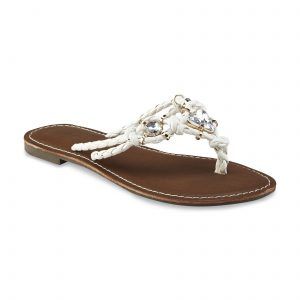 Pictures of Rhinestone Thong Sandals