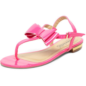 Pink Flat Sandals Images