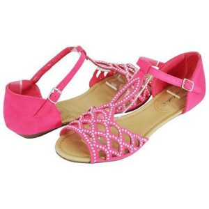 Pink Flat Sandals for Women
