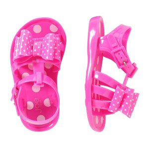 Pink Jelly Sandals Pictures
