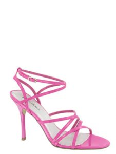 Pink Strappy Sandals Images